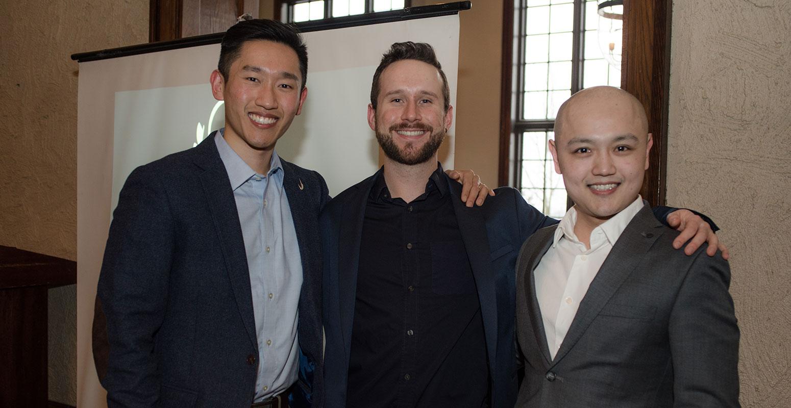 Michael Wong, Tim Han, Joshua Dierworlf